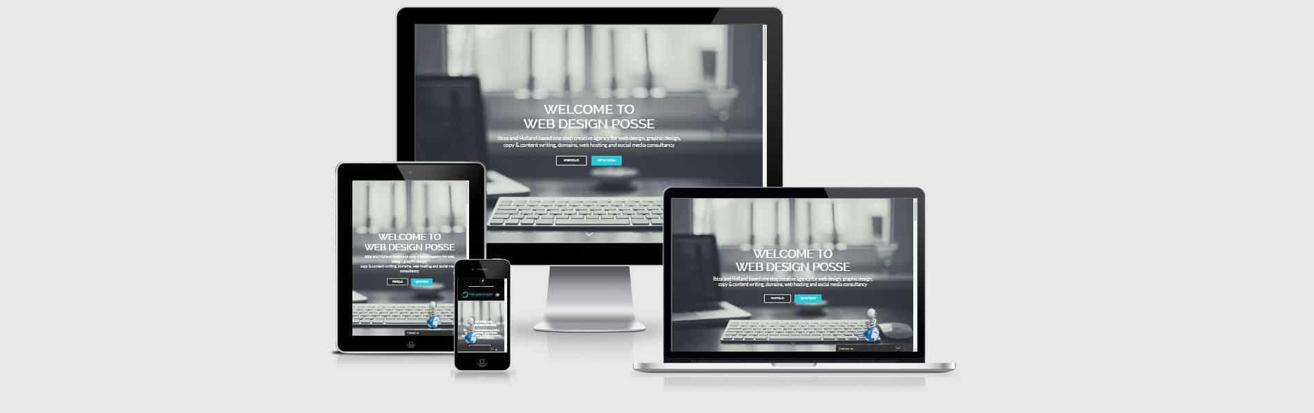Responsive web design Ibiza and Holland